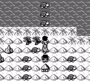 【ジャングルウォーズ(ゲームボーイ)】攻略 幻影の洞窟、カメ島、サークラル島