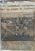 Asa FCSK 06 Coupe Alsace
