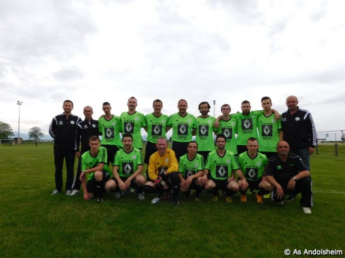 Séniors 1 As Andolsheim Cycle Retour Saison 2015 - 2016
