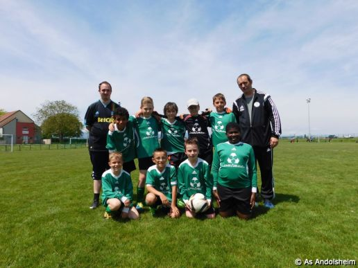 U 11 A As Andolsheim Cycle Retour