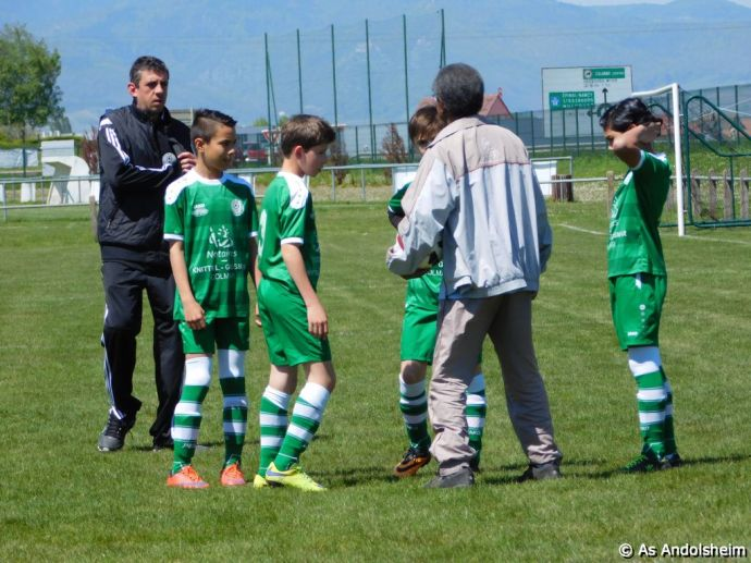 as andolsheim U 13 A Vs Avenir Vauban 00000