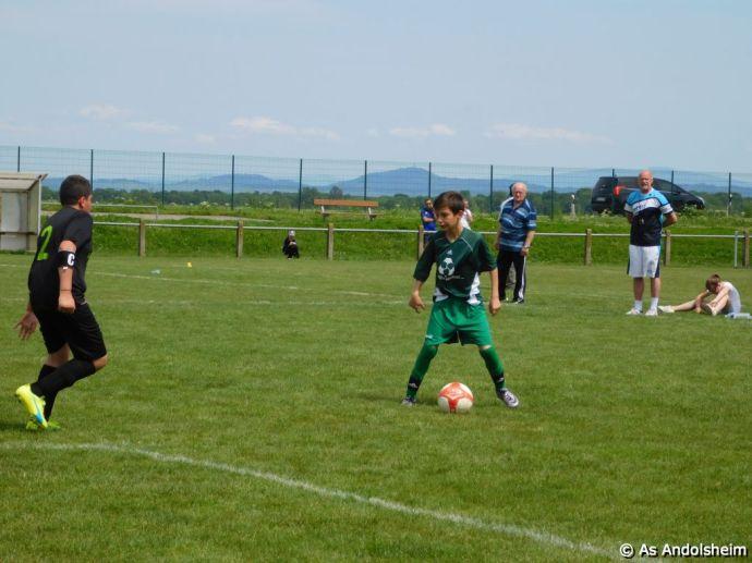 as andolsheim U 13 B vs Colmar Unifié 00019