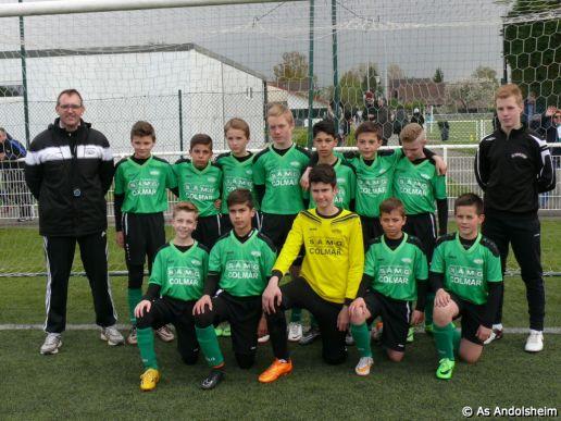as andolsheim U 13 finale departementale Hirtzbach 00089