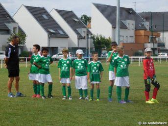 As Andolsheim Tournoi de rentree U 11 FC Horbourg wihr 83