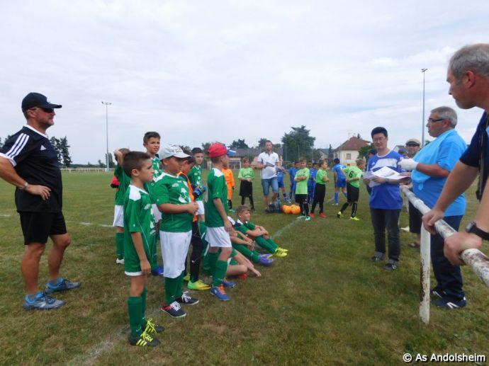 As Andolsheim Tournoi de rentree U 11 FC Horbourg wihr 87
