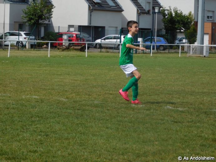 As Andolsheim Tournoi de rentree U 11 FC Horbourg wihr 90