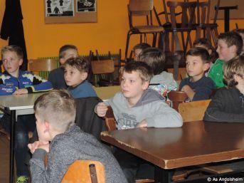 AS Andolsheim fete Noel des U 11 14