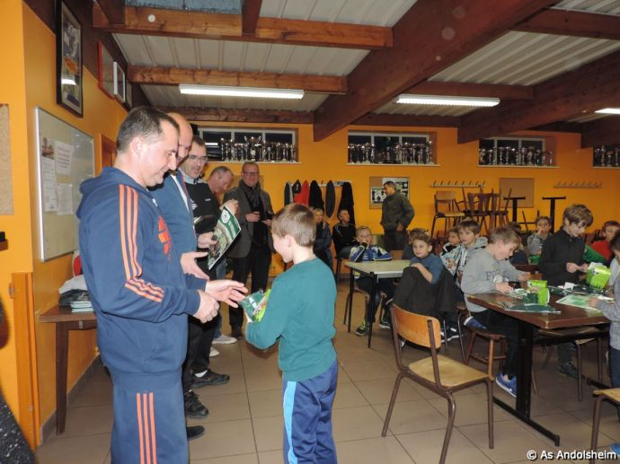 AS Andolsheim fete Noel des U 11 6