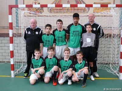 as andolsheim U 15 A tournoi en salle Fc Horbourg Wihr 0