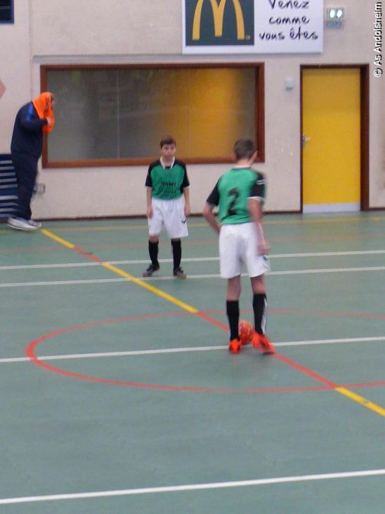 as andolsheim U 15 A tournoi en salle Fc Horbourg Wihr 8