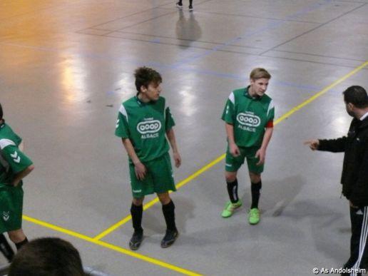 as andolsheim U 15 Promo Tournoi en salle ASC Biesheim 0