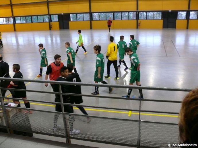 as andolsheim U 15 Promo Tournoi en salle ASC Biesheim 21