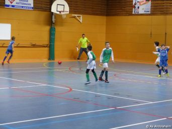 as andolsheim U 11 tournoi en salle AS Wintzenheim 15
