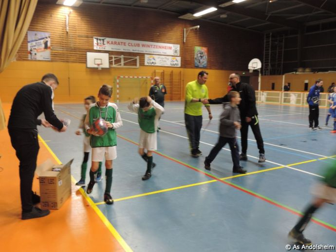as andolsheim U 11 tournoi en salle AS Wintzenheim 25