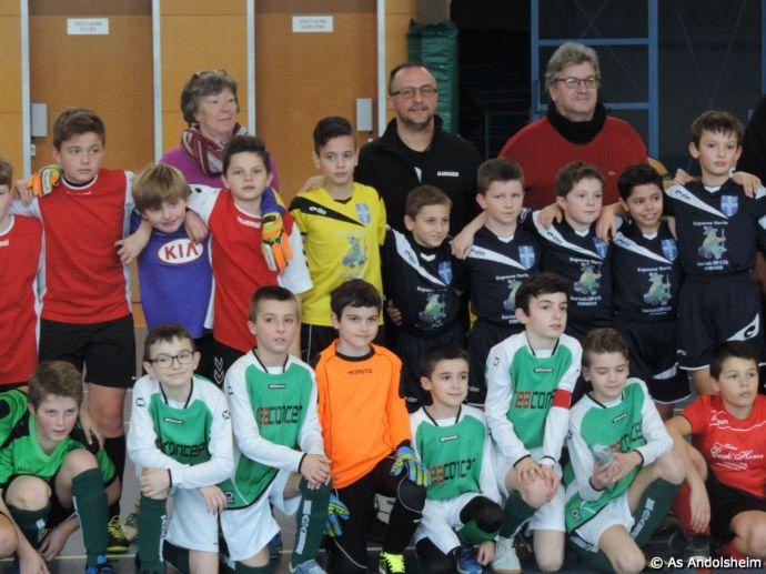 as andolsheim U 11 tournoi en salle AS Wintzenheim 32
