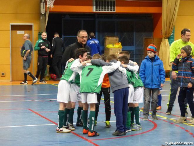 as andolsheim U 11 tournoi en salle AS Wintzenheim 6