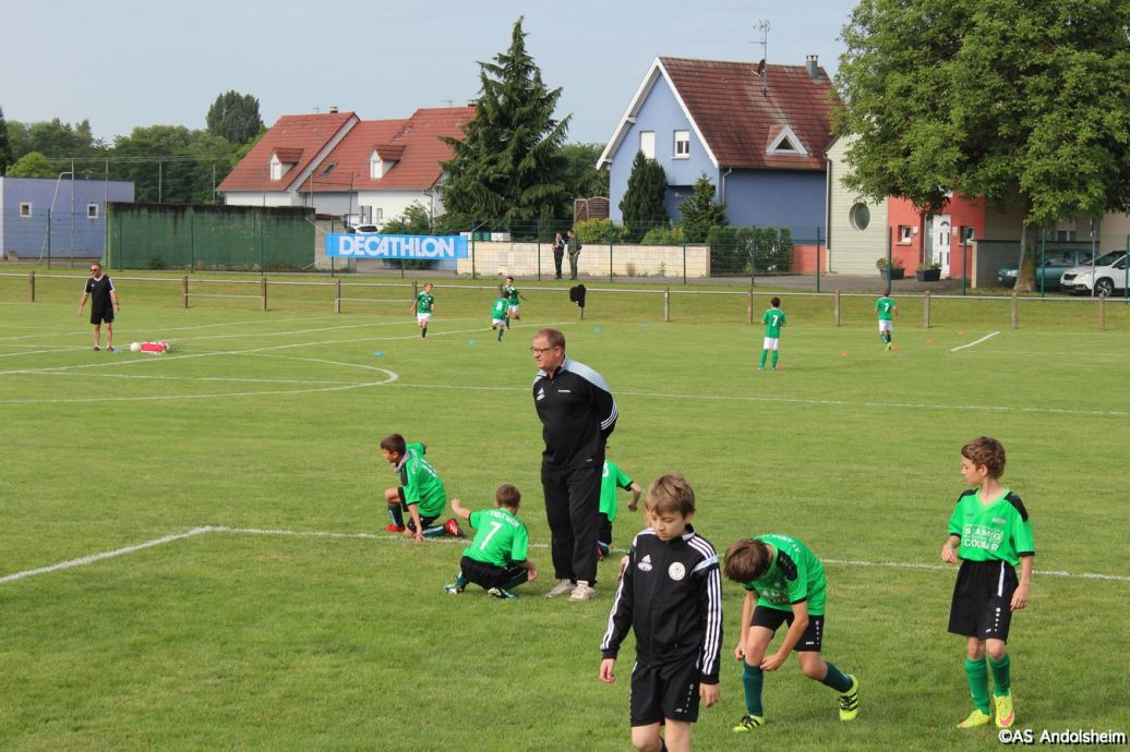 match ecole de Foot AS Andolsheim 70 eme anniversaire 00000