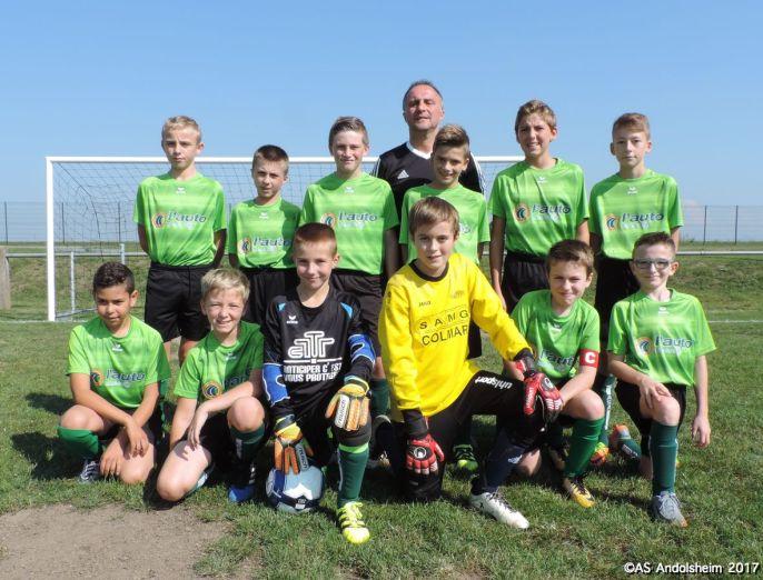 AS Andolsheim U 13 vs Fc Ostheim 00000