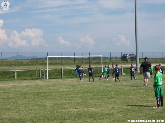 AS Andolsheim U 11 Amical vs FC Horbourg 310819 00022
