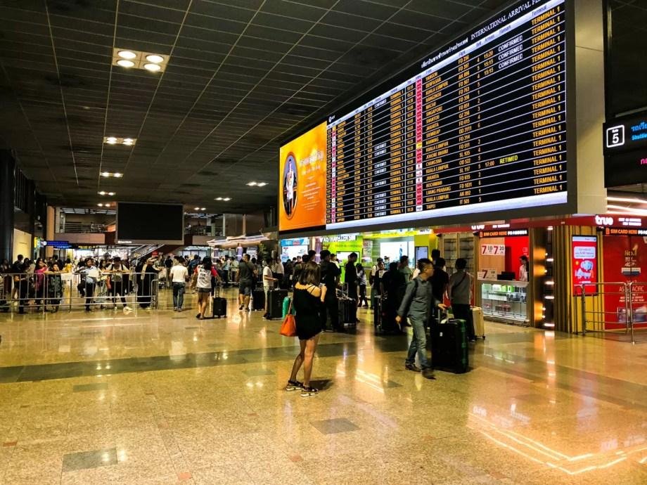 タイ旅行2018_ドンムアン空港