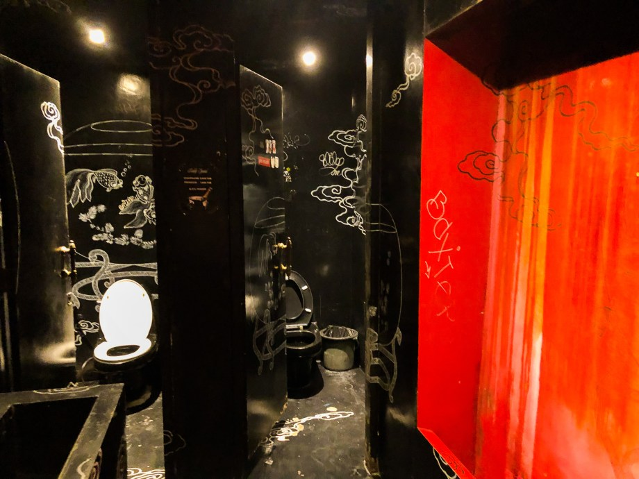 ゴーゴーバー・ブラックパゴダのトイレ。