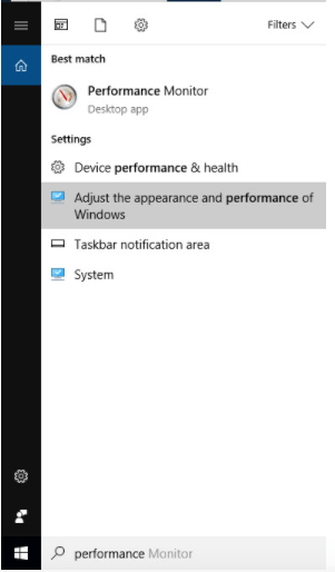 Disable animations and effects that run when you open Windows