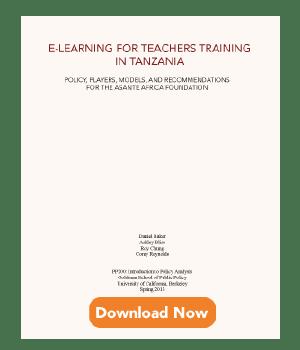 E-Learning For Teachers Training