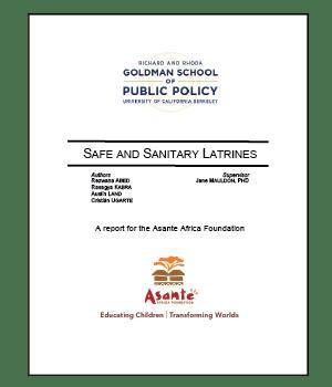 Safe and Sanitary Latrines