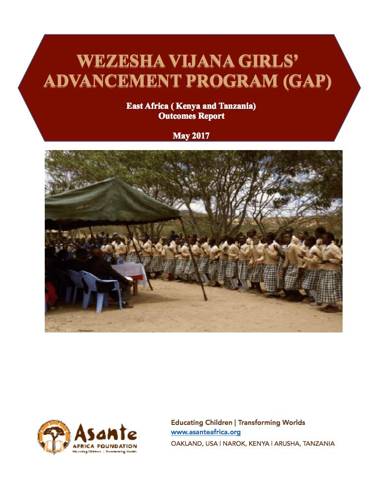 Wezesha Vijana Girls' Advancement Program