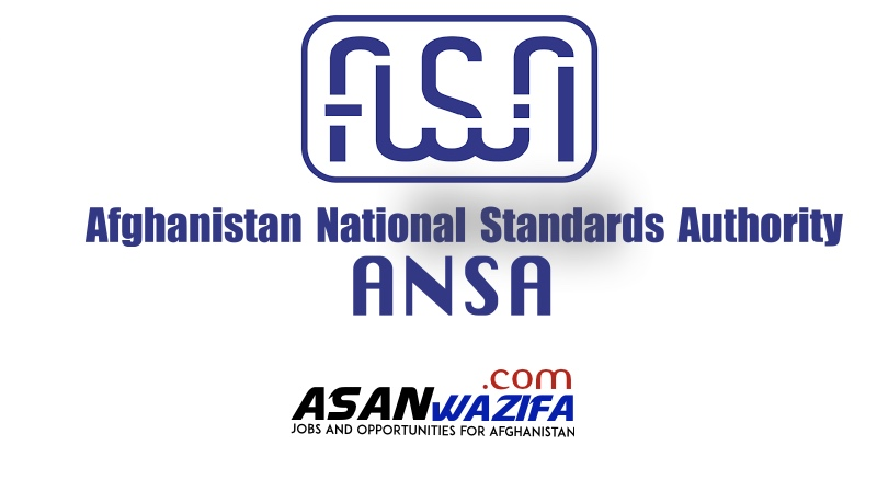 18 Jobs at Afghanistan National Standards Authority ( ANSA )