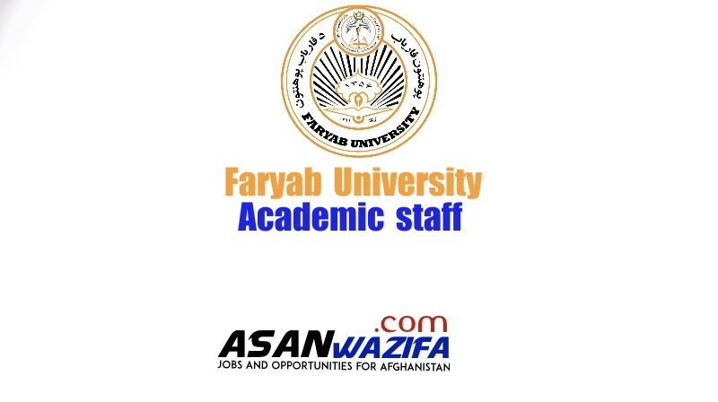 8 Jobs at Faryab University as academic staff