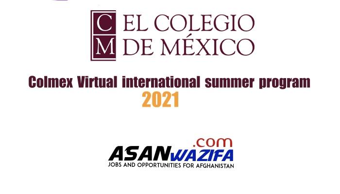 Colmex Virtual international summer program for Afghanistan