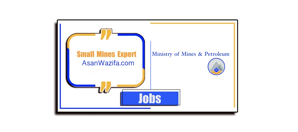 Ministry of Mines & Petroleum ( Small Mines Expert ) Kabul