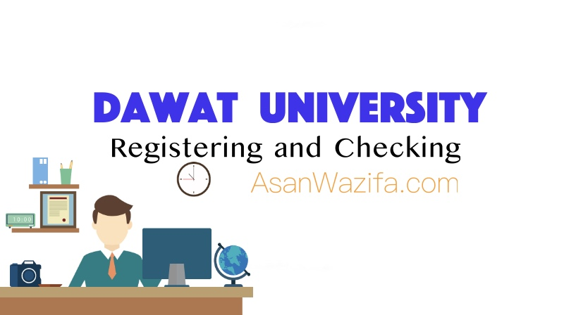 Responsible for registering and Checking female clients - Dawat University