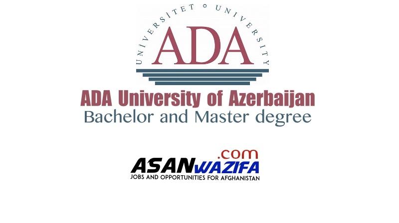 "Scholarship for Afghanistan ""Alimardan Bay Topchubashov ADA University of Azerbaijan"""