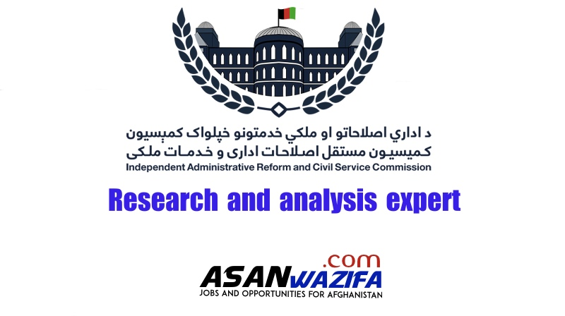 Independent Administrative Reform Civil Service Commission ( Research and analysis expert)