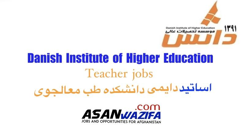 "Teacher jobs in Parwan"" Danish Institute of Higher Education """