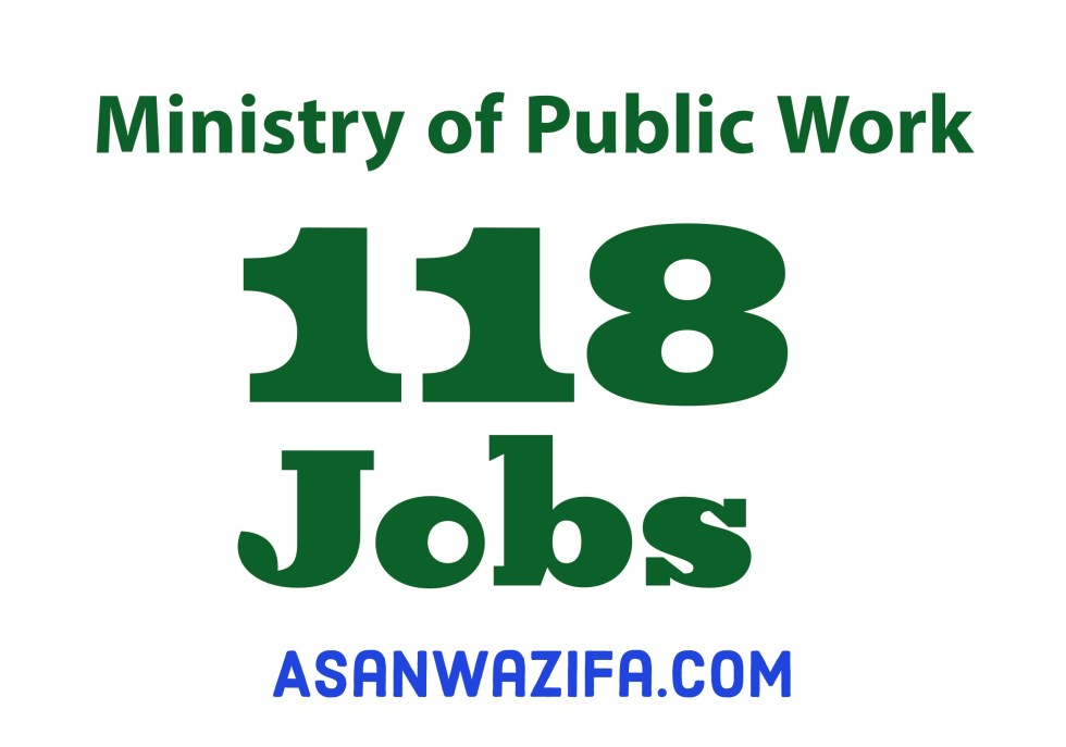 118 jobs by the Ministry of Public Works ( MOPW )
