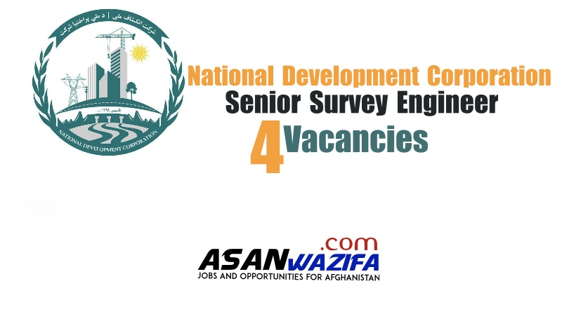 4 jobs as Senior Survey Engineer by National Development Corporation