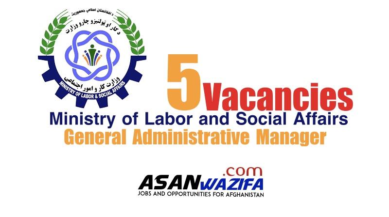 5 jobs as General Administrative Manager ( MOLSA )