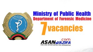 7 vacancies in the Department of Forensic Medicine