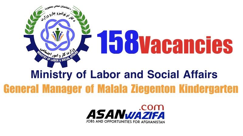 General Manager of Malala Ziegenton Kindergarten ( MOSLA )