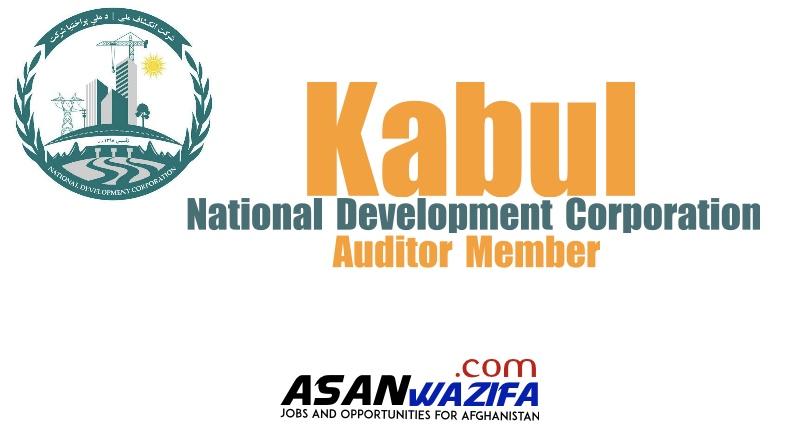 National Development Corporation ( Auditor member ) Kabul