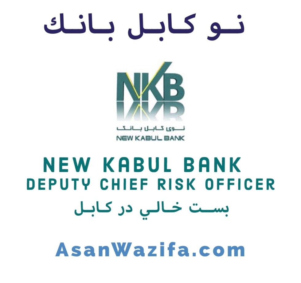 New Kabul banks job as Deputy Chief Risk Officer