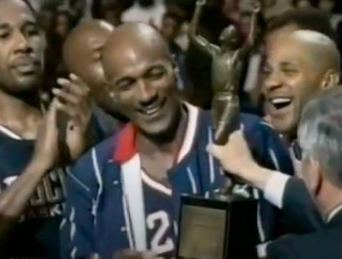 Clyde Drexler was NBA champion with Houston Rockets (Youtube)