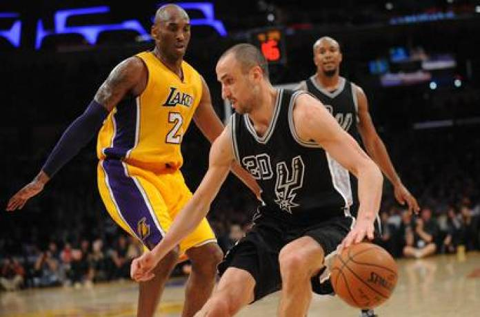 Ginobili and Kobe Bryant, a rivalry that spanned nearly two decades in the NBA