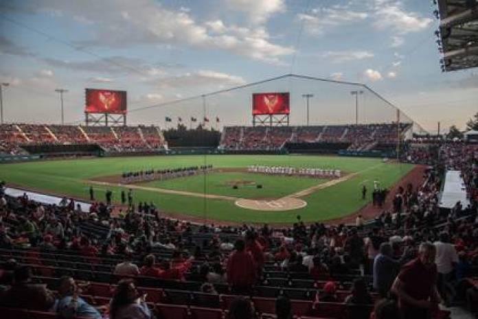 Alfredo Harp Helú Stadium, home of the Red Devils of Mexico (Photo: Mario Jasso / Cuartoscuro)