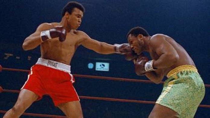 The first match between Muhammad Ali and Joe Frazier was called the Fight of the Century