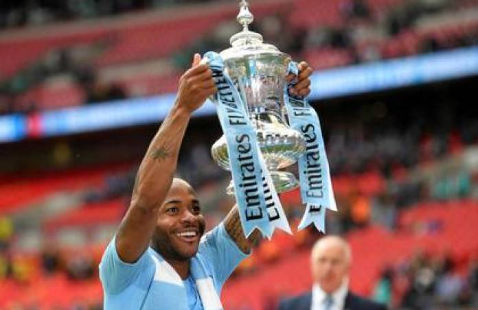 Raheem Sterling of Manchester City is one of the most expensive attackers in the world
