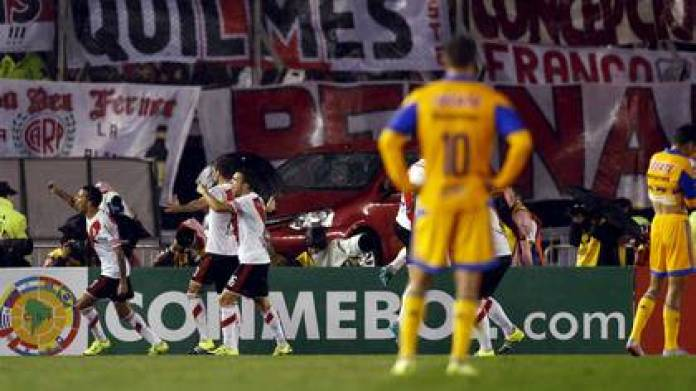 Tigres was the last club in the Liga MX to reach the final of a tournament in Conmebol, losing 3-0 to River Plate in the Copa Libertadores (Photo: Reuters)